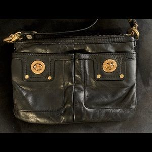 Marc By Marc Jacobs double pocket crossbody bag
